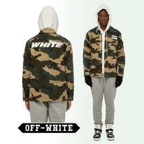 Off-White Camouflage Nylon Long Sleeves Shirts