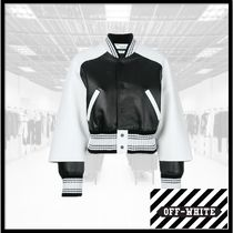Off-White Medium Varsity Jackets