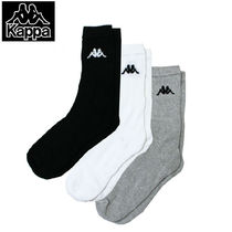 Kappa Unisex Street Style Plain Cotton Undershirts & Socks