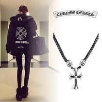 CHROME HEARTS Plain Silver Necklaces & Chokers