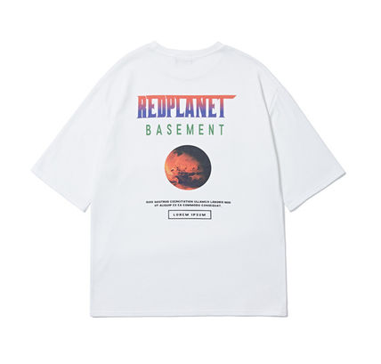 More T-Shirts [ONA] REDPLANET SHORT SLEEVE T-SHIRTS 3