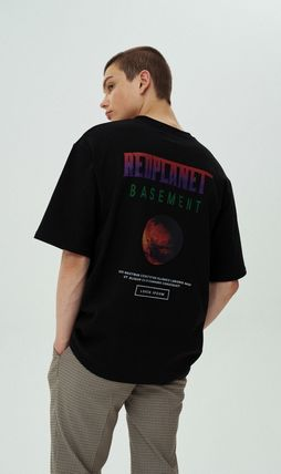 More T-Shirts [ONA] REDPLANET SHORT SLEEVE T-SHIRTS 18