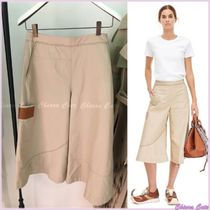 LOEWE Casual Style Plain Cotton Culottes & Gaucho Pants