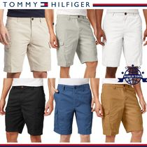 Tommy Hilfiger Plain Cotton Cargo Shorts