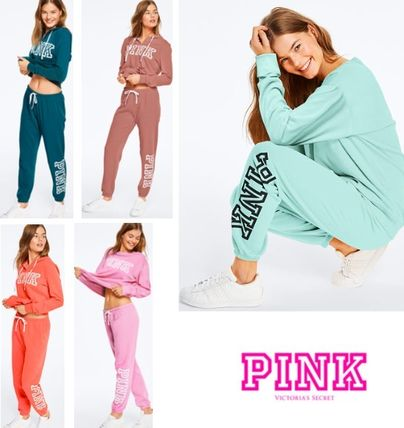 Casual Style Blended Fabrics Long Pants