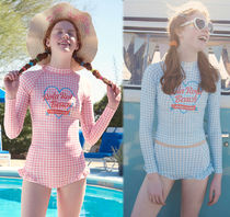 rolarola Gingham Beach Cover-Ups