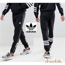 adidas Tapered Pants Street Style Cotton Tapered Pants
