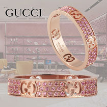 GUCCI 18K Gold With Jewels Elegant Style Fine