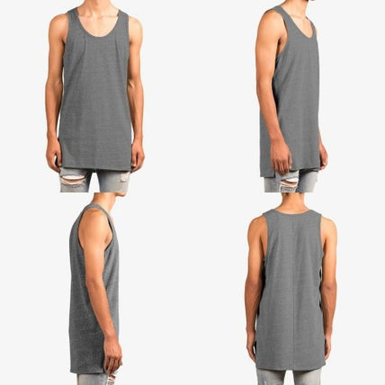 MNML Vests & Gillets Street Style Plain Cotton Vests & Gillets 4
