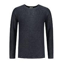 DSTREZZED Crew Neck Pullovers Street Style Long Sleeves Plain Cotton