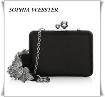 SOPHIA WEBSTER Flower Patterns 2WAY Chain Plain Party Style With Jewels