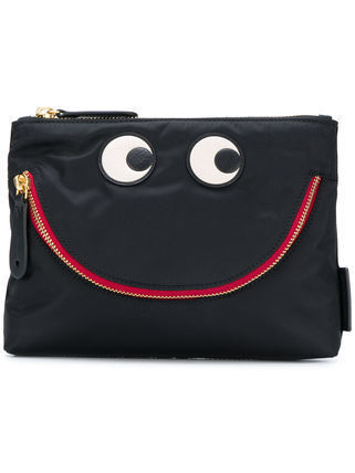 Casual Style Nylon Bag in Bag Clutches
