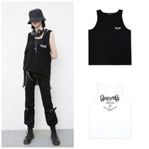 ANOTHERYOUTH Unisex Sleeveless Street Style Cotton Tanks