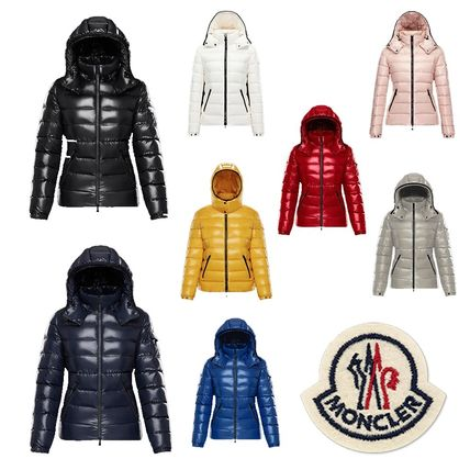 moncler bady brick red