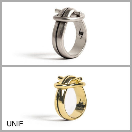 Casual Style Street Style Silver Brass Rings