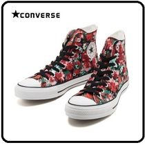 CONVERSE ALL STAR Flower Patterns Street Style Sneakers