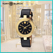 Tory Burch Round Quartz Watches Stainless Elegant Style Analog Watches