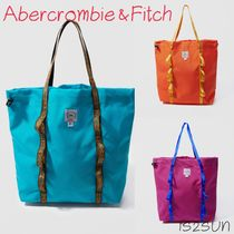 Abercrombie & Fitch Casual Style Unisex Street Style A4 Totes
