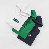 KITH NYC Unisex Street Style Collaboration Long Sleeves Cotton