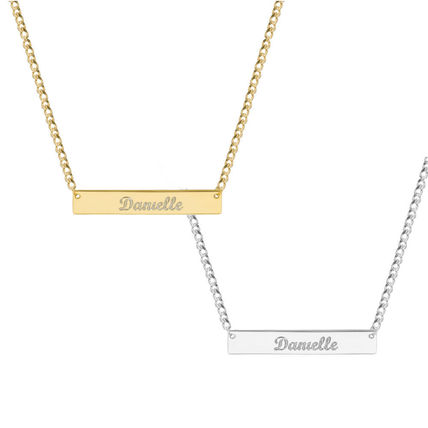 Casual Style Initial Silver 14K Gold Necklaces & Pendants