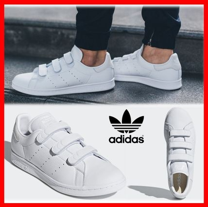Unisex Street Style Leather Sneakers