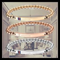 Tommy Hilfiger Unisex Street Style Chain Stainless Bracelets