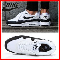 Nike AIR MAX 1 Street Style Leather Low-Top Sneakers