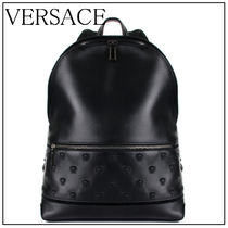 VERSACE Leather Backpacks