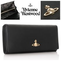 Vivienne Westwood Leather Long Wallets