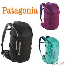 Patagonia Casual Style Street Style A4 Plain Backpacks