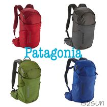 Patagonia Casual Style Unisex Nylon Street Style A4 Plain Backpacks