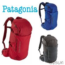 Patagonia Casual Style Unisex Street Style A4 Plain Backpacks