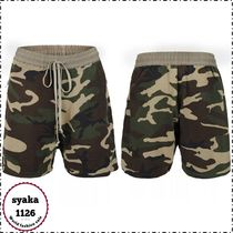 URKOOL Printed Pants Camouflage Cotton Shorts
