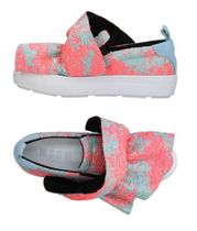 MSGM Flower Patterns Street Style Party Style Slip-On Shoes