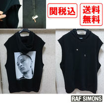 RAF SIMONS Sleeveless Street Style Cotton Vests & Gillets