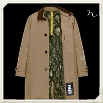 MONCLER Street Style Collaboration Plain Long Chester Coats