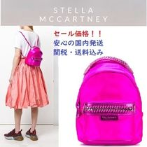Stella McCartney FALABELLA Casual Style Plain Backpacks