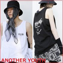 ANOTHERYOUTH Unisex Street Style Tanks