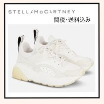 Stella McCartney Platform Lace-up Casual Style Plain