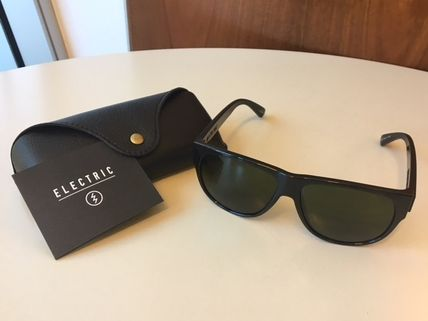 ELECTRIC Sunglasses Unisex Street Style Square Sunglasses