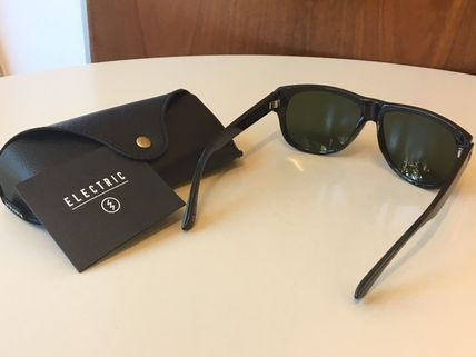 ELECTRIC Sunglasses Unisex Street Style Square Sunglasses 3