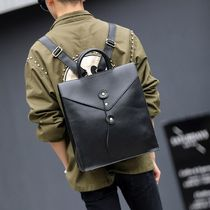 Unisex Faux Fur Street Style A4 2WAY Plain Backpacks
