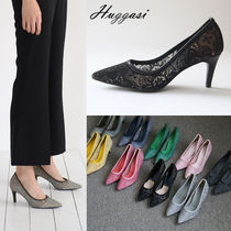 Wedge Handmade Office Style Wedge Pumps & Mules