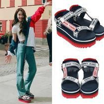 Tommy Hilfiger Casual Style Street Style Sport Sandals Flat Sandals
