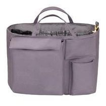 The Nappy Society Casual Style Canvas Blended Fabrics Bag in Bag Plain Totes