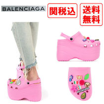 BALENCIAGA Casual Style Street Style Sandals