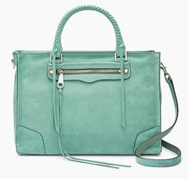 Rebecca Minkoff Casual Style Plain Leather Totes