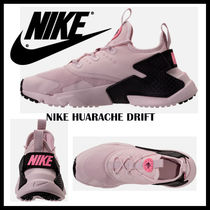 Nike AIR HUARACHE Casual Style Unisex Suede Street Style Bi-color