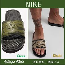 Nike Camouflage Street Style Shower Shoes Shower Sandals