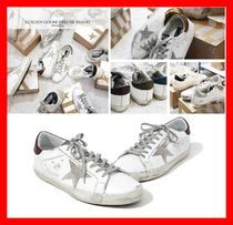 Golden Goose Casual Style Street Style Leather Low-Top Sneakers